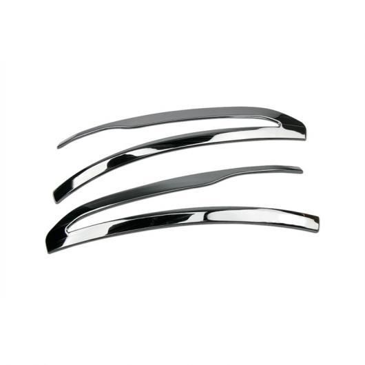 AL バックミラートリムストリップ 装飾 メルセデスベンツ C クラス W205 GLC X253 2016-19 ステンレス スチール 外装スタイリング ブラック AL-DD-6815