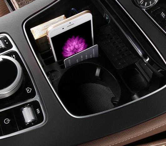 AL 車用内装パーツ コンソール ストレージ ボックス アップグレード 適用: メルセデスベンツ Eクラス W213 E200L E300L Cクラス W205 GLC E クラス W213~GLC クラス AL-DD-7634