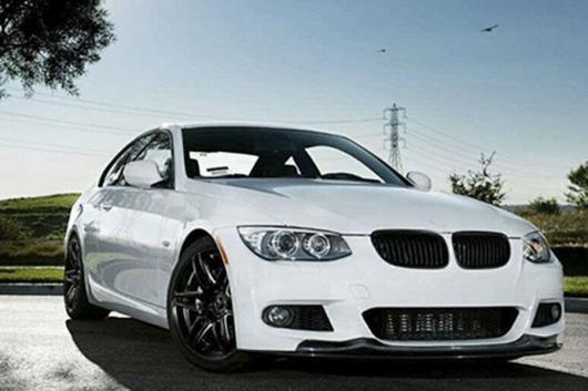 AL 車用外装パーツ カーボンファイバー フロント リップ スポイラー エプロン 適用: BMW E92 コンバーチブル Mテック 2010-2011 フロント バンパー リップ AL-DD-7737