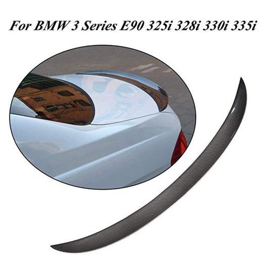 AL 車用外装パーツ カーボンファイバー リア スポイラー トランク ブート リップ ウイング 適用: BMW 3 シリーズ E90 セダン 4 ドア 06-11 M3 Mスポーツ 323i 325i 328i 335D 335i AL-DD-7751