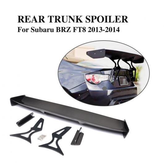 AL 車用外装パーツ リアル カーボンファイバー リア トランク スポイラー ウイング 適用: トヨタ GT86 スバル BRZ サイオン FR-S スポイラー AL-DD-7900
