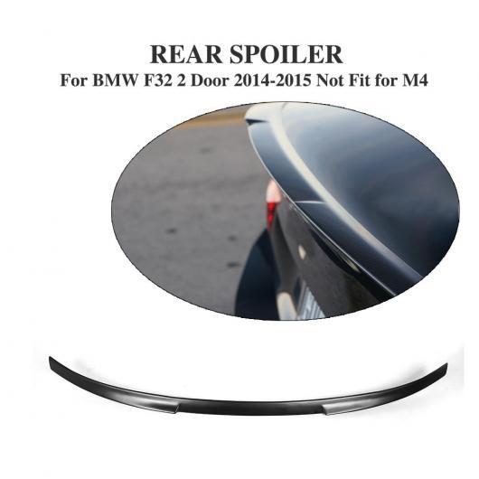 BMW AL 適用: 車用外装パーツ 4 除く-M4 クーペ ブラック ウイング ブート AL-DD-8056 トランク F32 シリーズ 未塗装 2014-2015 FRP リア スポイラー 2ドア