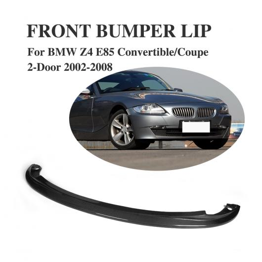 車用外装パーツ リップ カーボンファイバー スポイラー 適用: チン E85 クーペ 2ドア AL BMW Z4 AL-DD-8202 2002-2008 フロント コンバーチブル