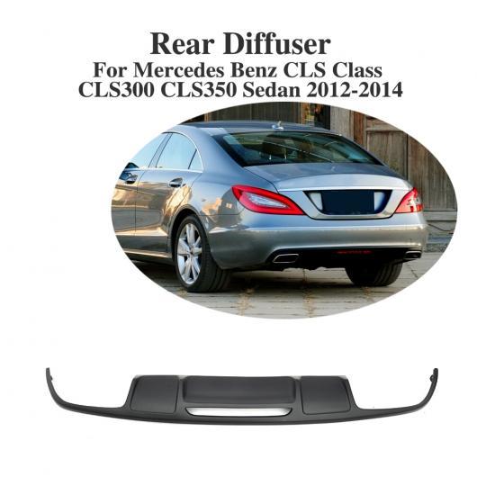 AL 車用外装パーツ PP リア バンパー リップ スポイラー ディフューザー 適用: メルセデスベンツ CLSクラス CLS300 CLS350 セダン 2012-2014 AL-DD-8302