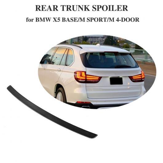 AL 車用外装パーツ カーボンファイバー リア トランク ハイ スポイラー ウイング 適用: BMW X5 Mスポーツ ベース スポーツ X ドライブ 35i 40E 50i スポーツ ユーティリティ 4 ドア 14-18 AL-DD-8373