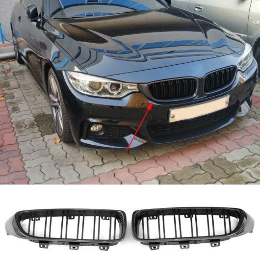 AL 車用外装パーツ カーボン グリッド 適用: BMW F30 F80 M3 F32 F82 F33 F83 F36 M4 420i 435i 428i 2013-2018 フロント バンパー レーシング グリッド AL-DD-8509