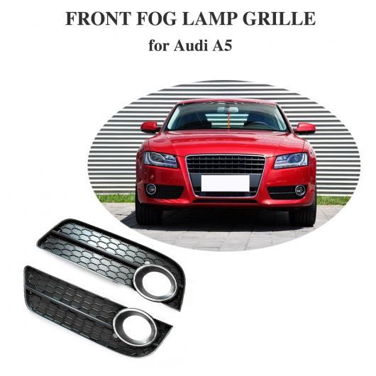 AL 車用外装パーツ フロント 左 右 ロワー バンパー フォグ ライト カバー 適用: アウディ A5 フォグ ランプ 吹き出し口 グリッド サイド インサート グリッド 適用: アウディ A5 2009 2010 2011 AL-DD-8567