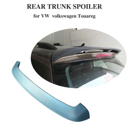 AL 車用外装パーツ リア トランク ルーフ スポイラー ウイング 適用: VW フォルクスワーゲン トゥアレグ 2011-2017 ABS マット ブラック AL-DD-8581