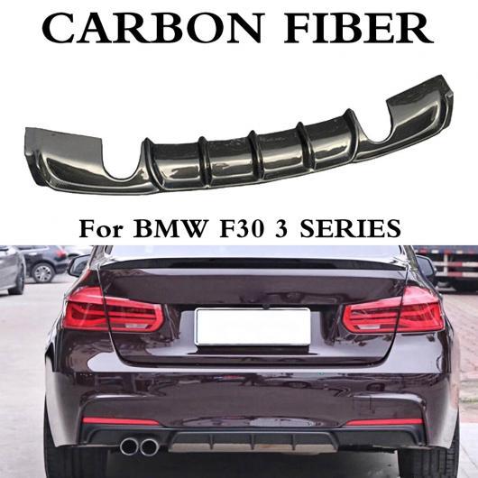 AL 車用外装パーツ カーボンファイバー F30 リア バンパー ディフューザー リップ 適用: BMW F30 320i 328i 320D 325D Mテック M-sport バンパー 12-18 スタイル A~スタイル D AL-DD-8619