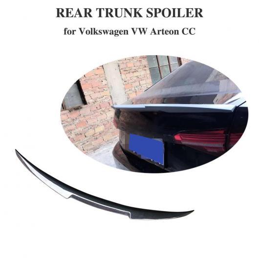 AL 車用外装パーツ カーボンファイバー リア トランク リップ スポイラー ウイング 適用: フォルクスワーゲン パサート 2019以降 AL-DD-8707