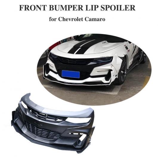 AL 車用外装パーツ PP フロント バンパー リップ スプリッタ フォグ ベント 適用: シボレー カマロ フロント バンパー リップ スポイラー ボディ キット 2016-2018 AL-DD-8709