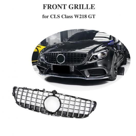 AL 車用外装パーツ 適用: メルセデスベンツ CLSクラス W218 セダン フロント グリッド CLS300 CLS350 CLS450 CLS500 2015-2018 ブラック・シルバー AL-DD-8793