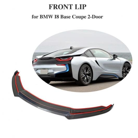 AL 車用外装パーツ カーボンファイバー フロント リップ 適用: 2014-2018 I8 ボディ キット フロント バンパー ロワー スプリッタ AL-DD-8796
