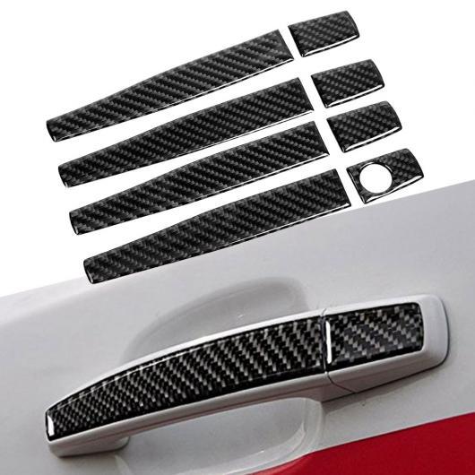 AL 車用外装パーツ 4個 カーボンファイバー ドア ハンドル 装飾 カバー トリム 適用: シボレー クルーズ 2009 2010 2011 2012 2013-2015 AL-DD-8887