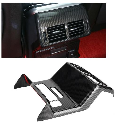 AL 車用内装パーツ リア エアコン 吹き出し口 フレーム カバー トリム 適用: ランド ローバー レンジ ローバー ヴェラール 2018 ABS カーボンファイバー調 AL-DD-8990