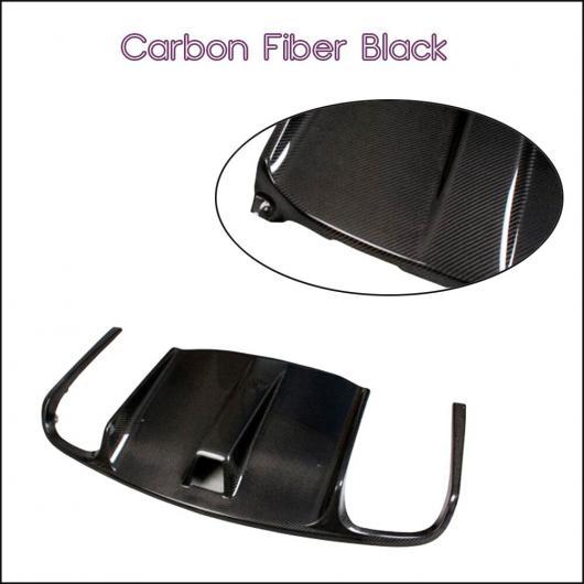AL 車用外装パーツ リア バンパー リップ スポイラー ディフューザー カバー 適用: ベンツ Eクラス W207 C207 クーペ E63 E250 E350 2010-2012 エキゾースト ディフューザー カーボンファイバー AL-DD-7805