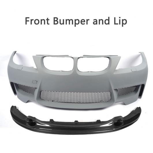 AL 車用外装パーツ PU 未塗装 プライマー ボディ キット フロント バンパー 適用: BMW 3シリーズ E90 LCi スタンダード バンパー セダン 4ドア 09-11 フロント バンパー ・ リップ AL-DD-8043