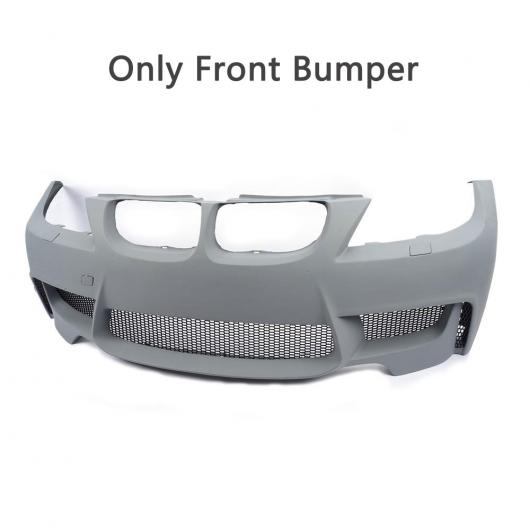 AL 車用外装パーツ PU 未塗装 プライマー ボディ キット フロント バンパー 適用: BMW 3シリーズ E90 LCi スタンダード バンパー セダン 4ドア 09-11 フロント バンパー AL-DD-8043