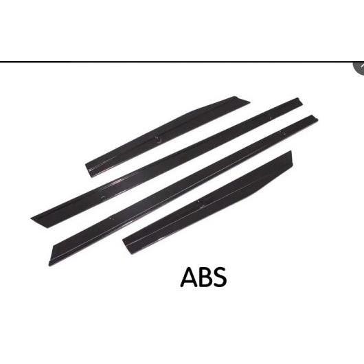AL 車用外装パーツ PP サイド スカート エプロン ドア プロテクター チン キット ガード 適用: フォルクスワーゲン VW ゴルフ 7 7.5 R R ライン ハッチバック 2014-2018 4PC ダークグレー AL-DD-8395