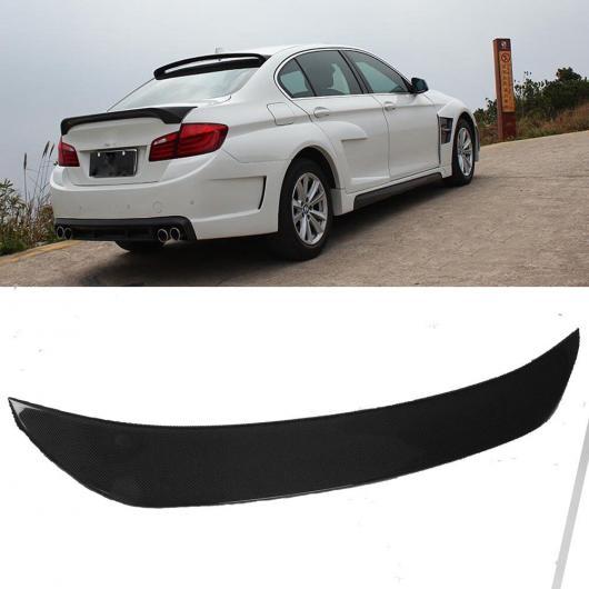 AL 車用外装パーツ 適用: BMW F10 スポイラー 2010-2016 5 シリーズ セダン F10 カーボン スポイラー F10 M5 520i 525i 528i リア トランク ウイング 4 スタイル ブラック・シルバー AL-DD-8655