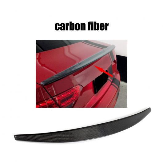 AL 車用外装パーツ 適用: アウディ A5 カーボンファイバー FRP リア スポイラー ウイング 2ドア クーペ 2008-2016 バック トランク メンバー アーミーグリーン AL-DD-8675