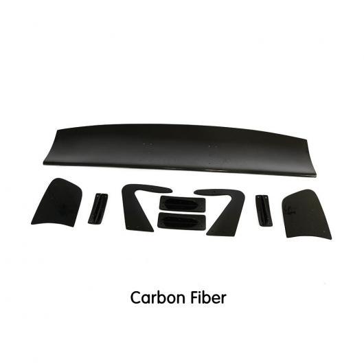 AL 車用外装パーツ リア トランク スポイラー ウイング 適用: BMW M3 M4 F10 F20 F30 E90 E92 E93 F80 F82 Z4 ダークグレー AL-DD-8690