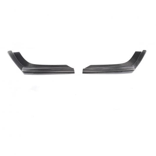 AL 車用外装パーツ M3 M4 カーボンファイバー リア バンパー ディフューザー スプリッタ 適用: BMW F80 M3 F82 F83 M4 2012-2019 3個セット スプリッター AL-DD-8750