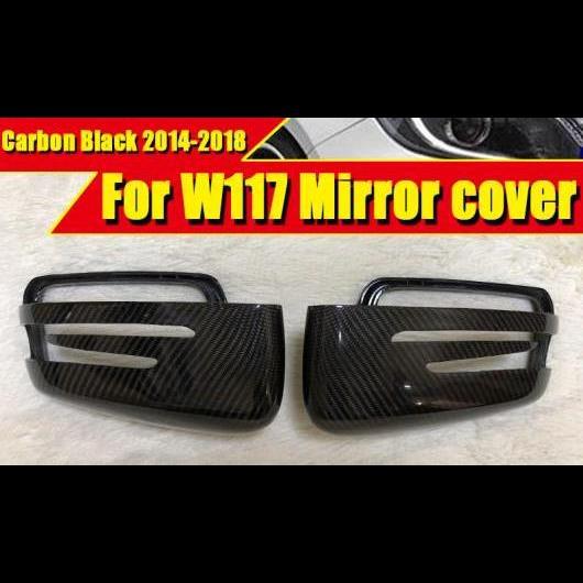 2x For VW MERCEDES BMW PORSCHE AUDI Black Carbon Fiber License Plate Frame Cover