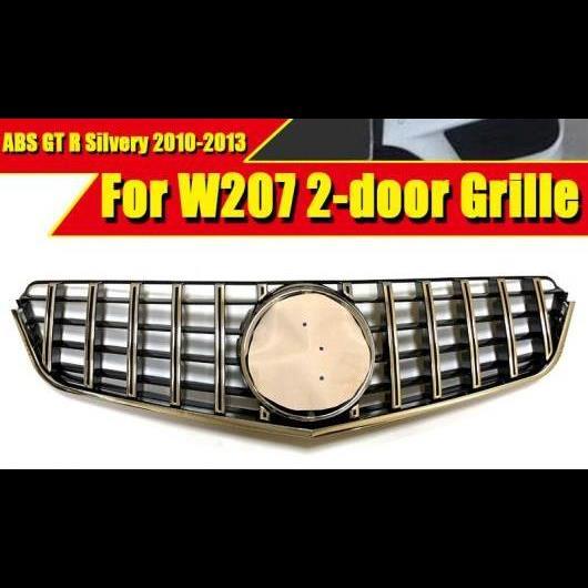 AL 車用外装パーツ W207 2ドア GTS スタイル グリッド ABS シルバー 適用: メルセデスベンツ Eクラス E200 E320 E350 スポーツ フロント 10-13 タイプ001 AL-EE-0328