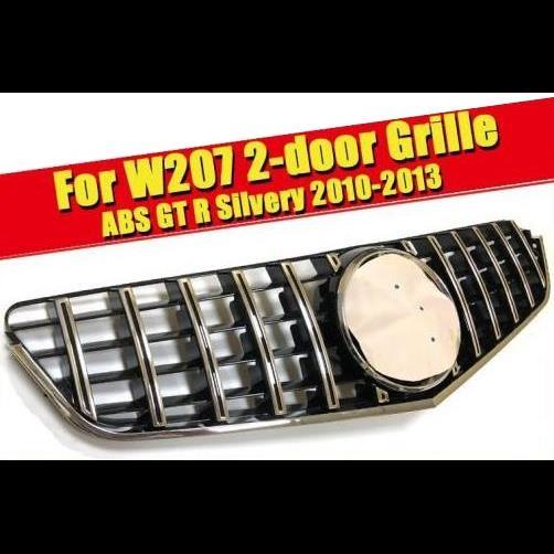 AL 車用外装パーツ W207 GTS グリッド 適用: メルセデスベンツ ABS シルバー クーペ フロント バンパー スポーツ Eクラス E200 E250 E280 E350 E400 10-13 タイプ001 AL-EE-0329