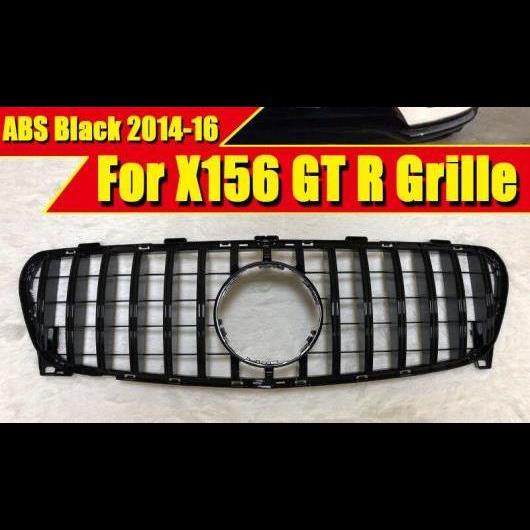 AL 車用外装パーツ 適用: メルセデスベンツ X156 GLA スポーツ グリッド グリル GTS スタイル ABS ブラック GLA180 200 GLA45 フロント バンパー 14-16 タイプ001 AL-EE-0343
