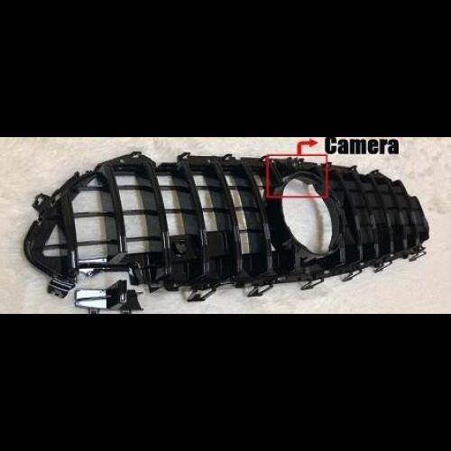 AL 車用外装パーツ 適用: メルセデス CLSクラス C257 W257 フロント バンパー GTS グリル ABS 光沢ブラック アドオン スタイル 2019- タイプ001 AL-EE-0370