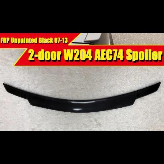 AL 車用外装パーツ W204 2ドア スポイラー FRP 未塗装 リア ウイング 適用: メルセデス Cクラス C180 C200 C260 C280 C300 C74 スタイル 2007-2013 タイプ001 AL-EE-0422