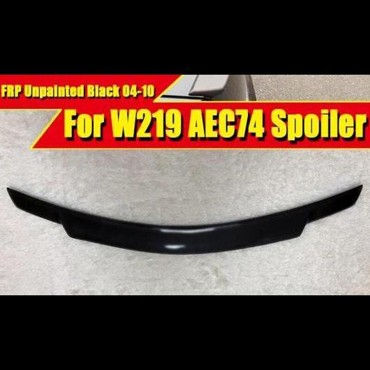 AL 車用外装パーツ 適用: メルセデスベンツ W219 FRP 未塗装 トランク スポイラー ウイング C74 スタイル CLSクラス CLS350 400 500 550 リア リップ 04-10 タイプ001 AL-EE-0432