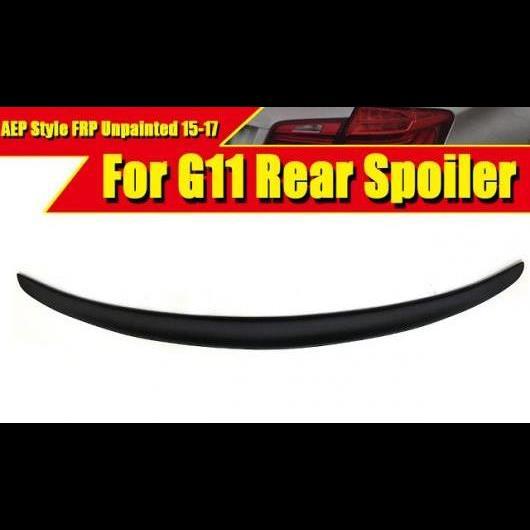 AL 車用外装パーツ G11 スポイラー リア リップ ウイング FRP 未塗装 P 適用: 7シリーズ 740i 740iXD 750i 750iXD 750Li トランク 15-17 タイプ001 AL-EE-0460