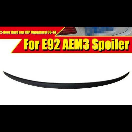 AL 車用外装パーツ M3 スタイル FRP 未塗装 E92 2ドア ハード トップ スポイラー リア ディフューザー トランク リップ ウイング 適用: 3シリーズ 325i 330i 335 2006-13 タイプ001 AL-EE-0470