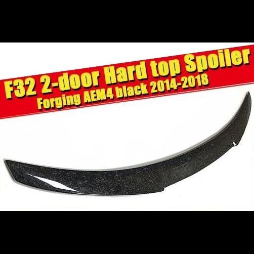 AL 車用外装パーツ 適用: 4シリーズ F32 2ドア ハード トップ リア トランク スポイラー ウイング 鍛造 カーボン 420i 430i 430iGC 440i テール 14-18 タイプ001 AL-EE-0584