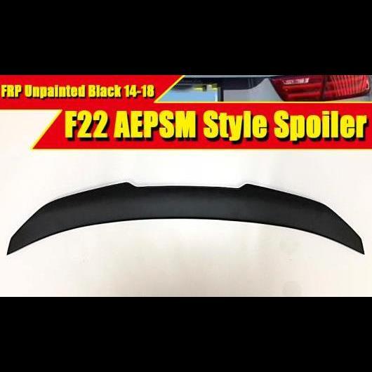 AL 車用外装パーツ F22 テール スポイラー リア リップ ウイング FRP 未塗装 スタイル 適用: BMW 2シリーズ 220i 228i 230i 235i トランク 2014-18 タイプ001 AL-EE-0597