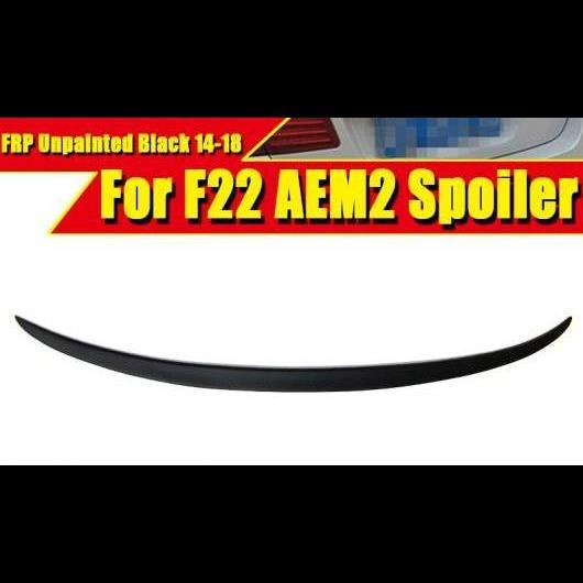 AL 車用外装パーツ F22 スポイラー トランク ウイング FRP 未塗装 適用: BMW M2 220i 228i 230i M235i リア ディフューザー 2014 タイプ001 AL-EE-0647