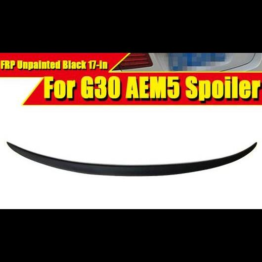 AL 車用外装パーツ G30 テール スポイラー ウイング FRP 未塗装 M5 スタイル 適用: BMW 5シリーズ 520i 530i 535iGT 540i リア トランク 2017 タイプ001 AL-EE-0663