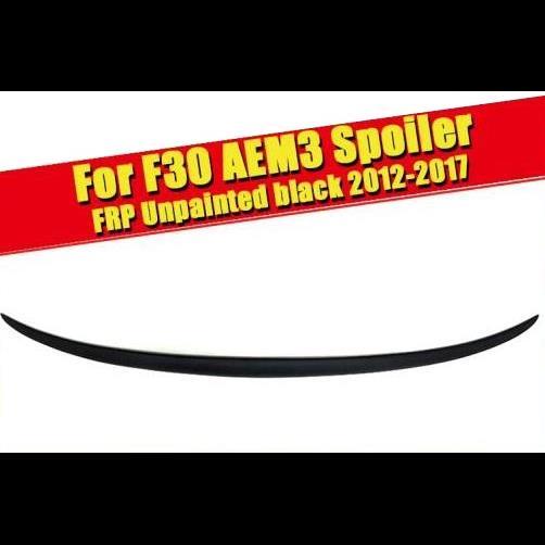 AL 車用外装パーツ F30 未塗装 リア ウイング トランク スポイラー 3シリーズ 320i 323i 328i 328D 330i セダン & F35 M3 ウイング スポイラー 2012-2017 タイプ001 AL-EE-0685