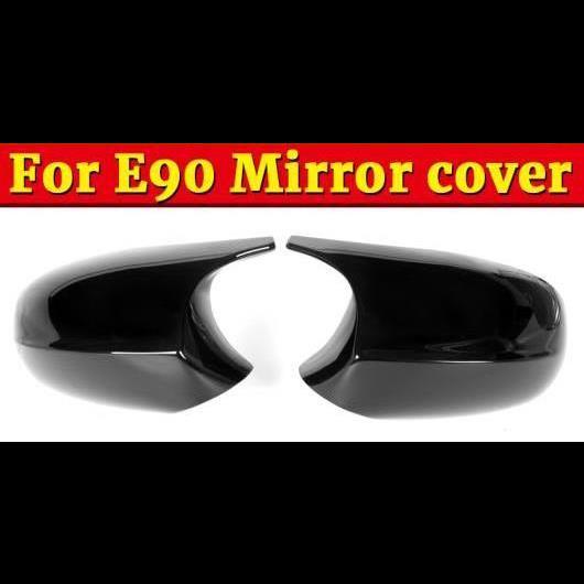 Carbon Fiber Door Side Mirror Covers for 2005-2009 BMW E90 E91 Pre-LCI 3-Series