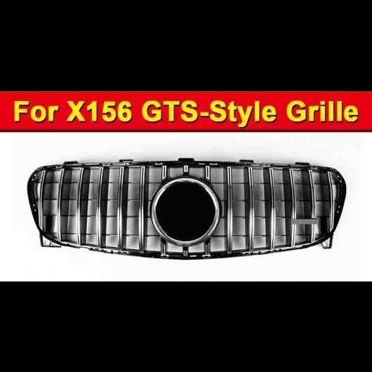 AL 車用外装パーツ X156 GLA スポーツ グリッド グリル ABS シルバー 適用: 適用: メルセデスベンツ GLA180 GLA200 GLA220 GLA250 GLA45 グリル 2017 タイプ001 AL-EE-1030