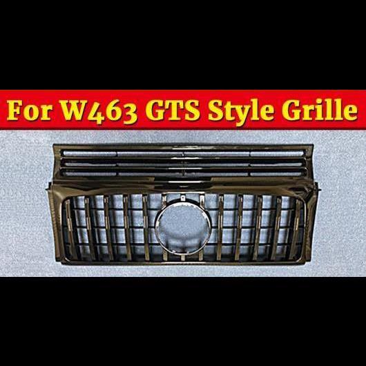 AL 車用外装パーツ W463 GTS スタイル グリッド グリル スポーツ ABS ブラック オート 適用: メルセデスベンツ Gクラス G500 G550 グリル 2090-18 タイプ001 AL-EE-1088