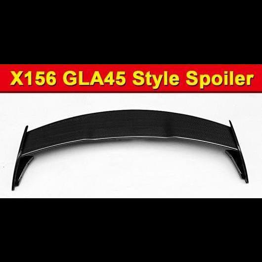 AL 車用外装パーツ 適用: メルセデス X156 GLAクラス ルーフ ウイング ウインドウ スポイラー アドオン スタイル GLA45 カーボンファイバー CF GLA180 GLA200 GLA250 リア 15- タイプ001 AL-EE-1112