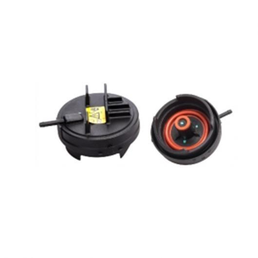 AL 車部品 11 12 7 552 281 2個 オイル カバー/ハウジング カバー 適用: BMW N52 AL-EE-1536