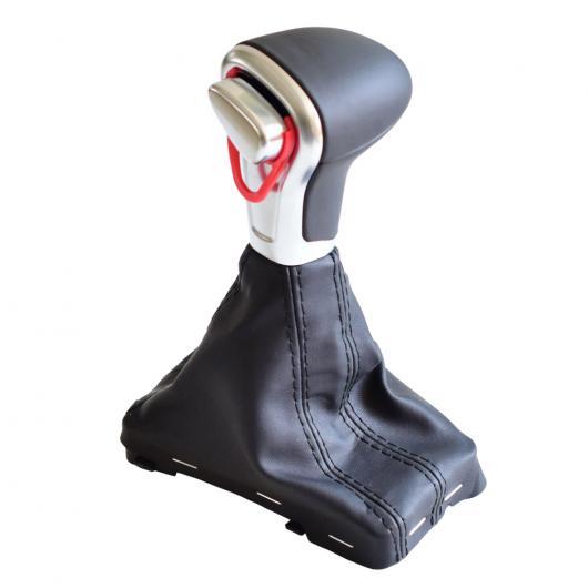 AL ギア オート スティック シフト ノブ シフター レザー ゲートル ブーツ カバー 適用: アウディ A4 A5 A6 Q5 Q7 B8 2006-2015 ギア シフト ノブ AL-EE-3746
