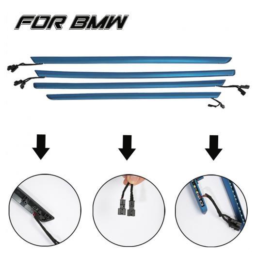 AL インテリア 2色 車内ドア ライト コントロール ストリップ 装飾 ライト 適用: BMW 3シリーズ F30 輸入車 2012-18 4~3 AL-EE-4205
