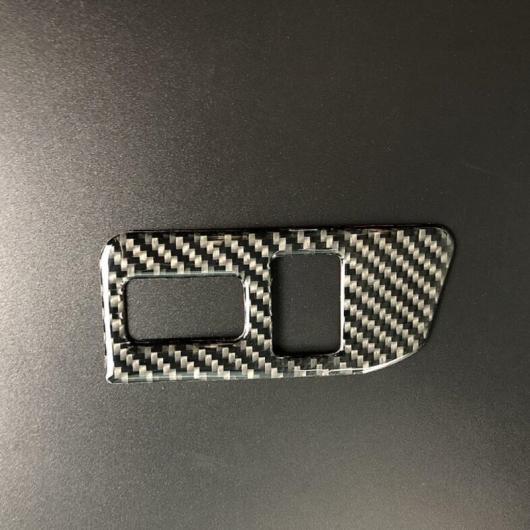 AL カーボンファイバー センター コンソール トランク ボタン スイッチ デカール 装飾 カバー トリム 適用: スバル BRZ トヨタ 86 2013-17 1ピース AL-EE-4367