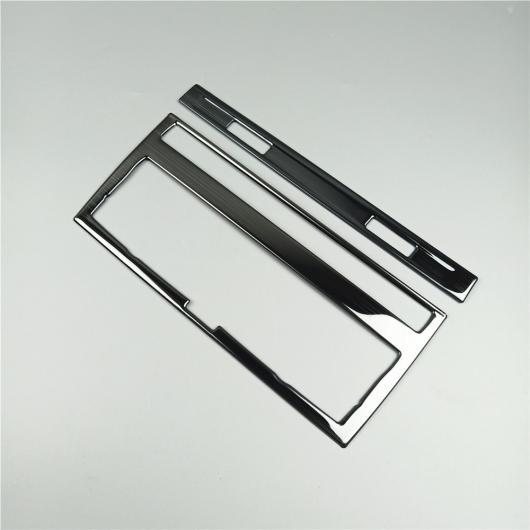 AL セントラル エア コンディション CD パネル 装飾 カバー ステッカー トリム 適用: アウディ A6 C5 C6 2005-2011 ブラック AL-EE-4542